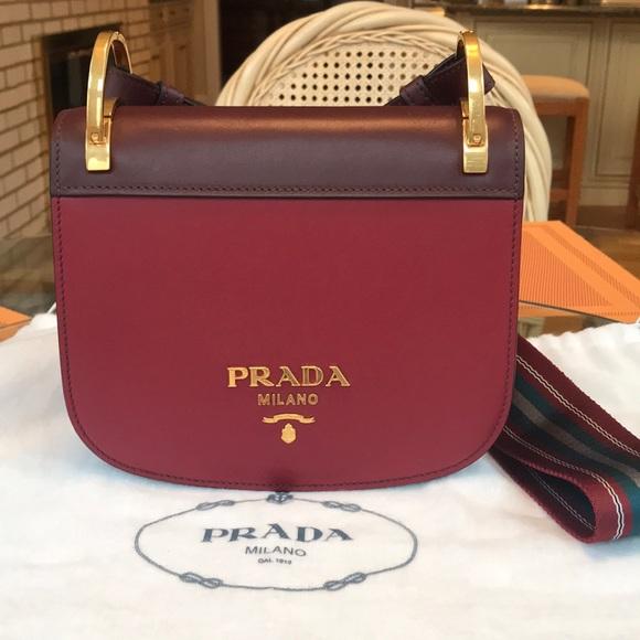 163c2d1f7f7eed Prada Bags | Pionniere Web Strap Bag | Poshmark